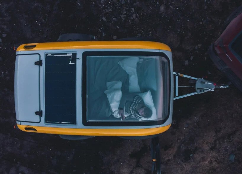 سقف پانورامای کمپر مینک